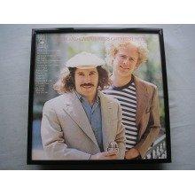 SIMON & GARFUNKEL Greatest LP cover framed for wall mounting BLACK