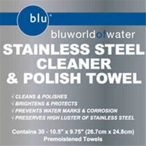Bluworld DYM-91930 Stainless Steel Cleaner Towels