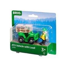 BRIO Lumber ATV with Load