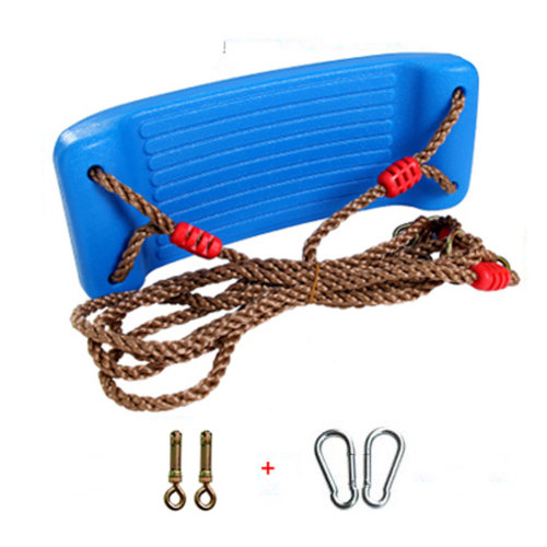 2-in-1 Snug 'n Secure Swing - Holds 331 Lbs Adjustable Hanging Ropes,#E