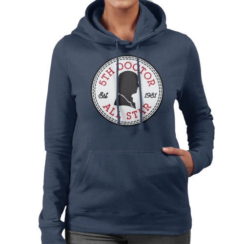 Converse All Star Fifth Doctor Who Women's Hooded Sweatshirt