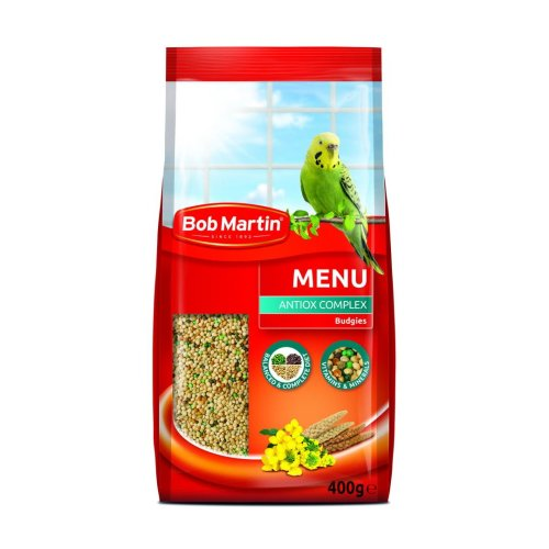 Bob Martin Avia Budgie Food 400g (Pack of 5)