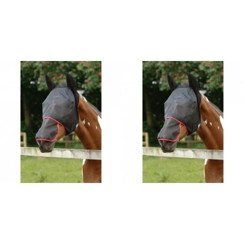 Equilibrium Field Relief Max Horse And Donkey Fly Mask With Ears