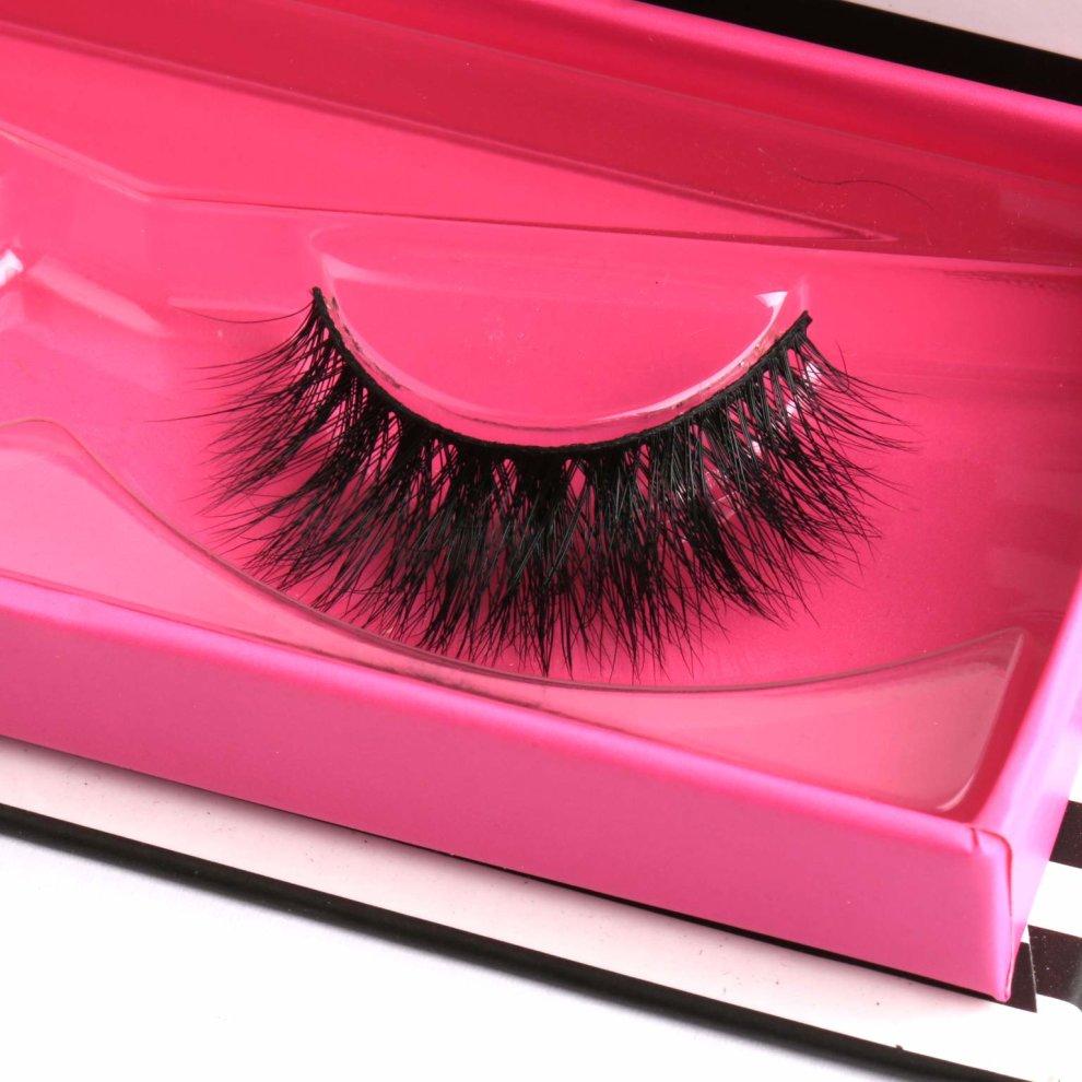 b4bf4152996 ... Arimika 3D Handmade Lightweight Fluffy False Eyelashes For Makeup 1  Pair Pack - 3 ...