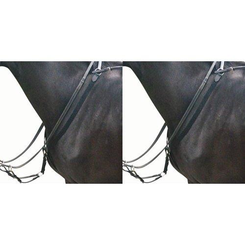 Kincade Elastic Eventing Breastplate & Martingale II