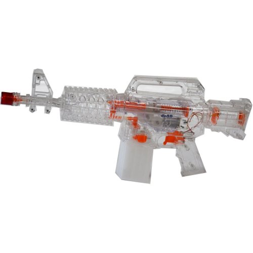 deAO Electric Battery Powered Water gun - Machine Gun Style Water Pistol