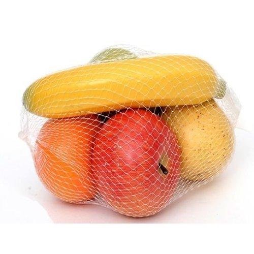 Artificial Mixed Fruit Bag - 5 Pieces of various fruit