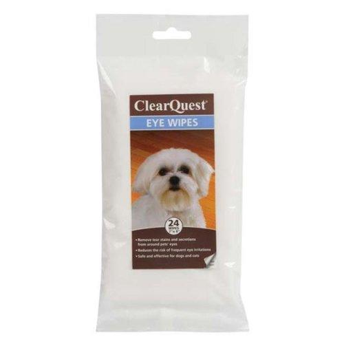 Clearquest US6228 24 Eye Wipes 24Pk Bag