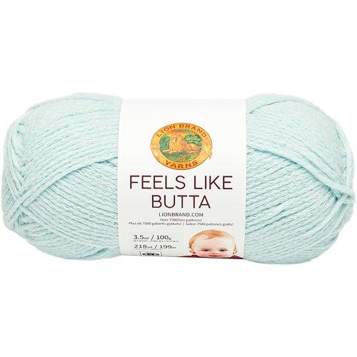 Lion Brand Feels Like Butta Yarn-Ice