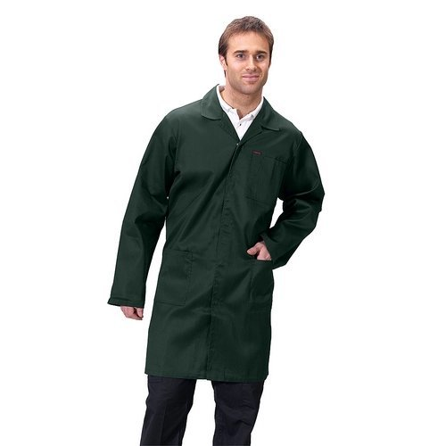 """Click PCWCS34 Polycotton Warehouse Coat Spruce Green 34"""""""