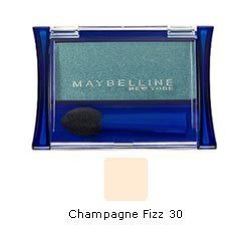 Maybelline New York Expert Wear Eyeshadow Singles, 30 Champagne Fizz, 0.10 Oz