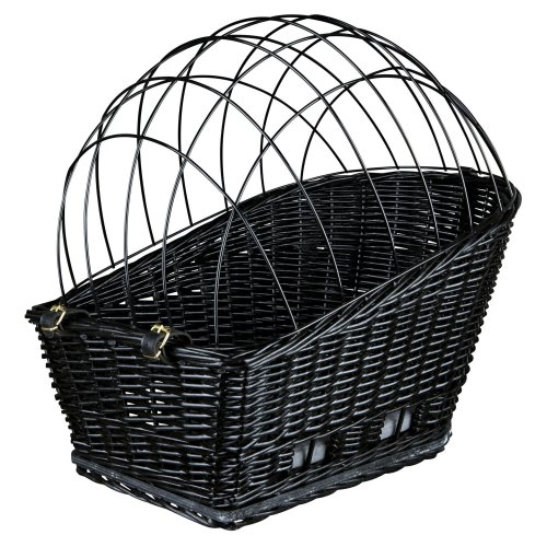 Trixie Plastic Coated Bicycle Basket With Lattice