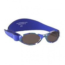 Baby Banz 0-2 Uv Sunglasses €? Adventurer, Blue Camouflage