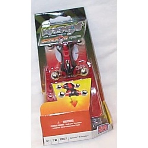 magnext spheron boltryder magnet red & black car with gravity launcher toy model