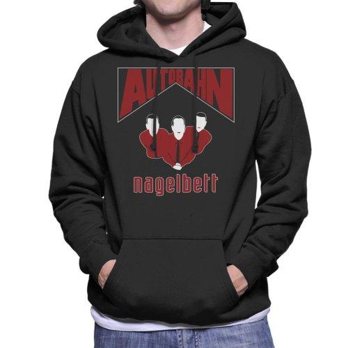 Autobahn Nagelbert Album Cover Big Lebowski Men's Hooded Sweatshirt