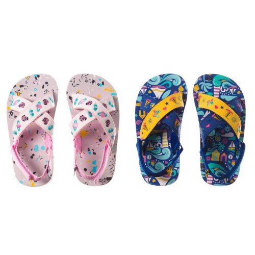 Animal Childrens Girls Daisie Flip-Flops