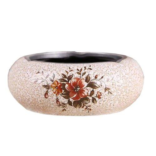 Ashtray, European Retro Ceramic Ashtray For Home Decoration