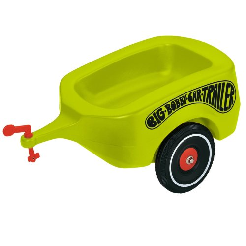 BIG 800056275 Green Trailer Toy for Bobby Car