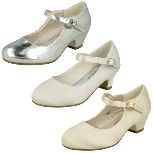 Girls Spot On Mary Jane Style Party Shoes