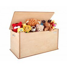 Little Helper Room Tidy Toy Box with Slow Release Lid (Natural)