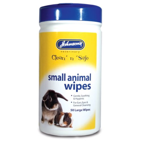 Jvp Small Animal Cleansing Wipes 50pk (Pack of 6)