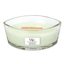 WoodWick 16oz HearthWick Jar Candle With Wooden Lid Sweet Lime Gelato