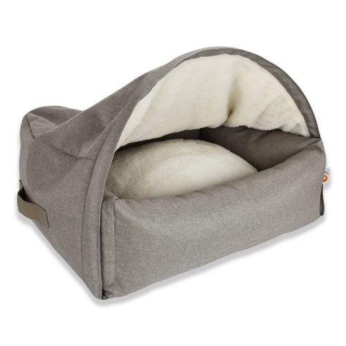 Cat Cave Bed Den With Air Slits for Air Circulation Removable Cover