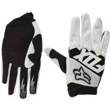 Fox Dirtpaw Race Bike Glove white Glove size S 2018 Full finger bike gloves