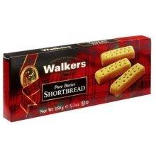 Walkers Shortbread Pure Butter Shortbread, Fingers, 5.3 oz