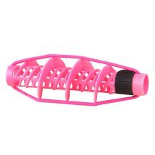 5 PCS Home DIY Hair Rollers Corn Stigma Rolls Styling Tool, Pink