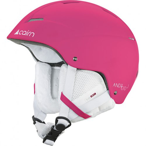Cairn Android J Matt Fluo Fuschia Helmet Junior 54/56