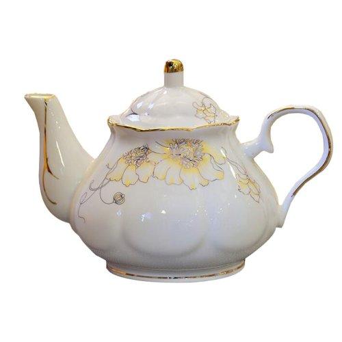 Beautiful England Flower Design Tea Service Teapot