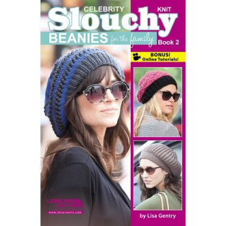 Leisure Arts-Slouchy Beanies For The Family Book 2