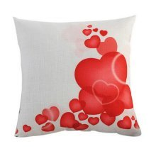 Valentine's Day Gifts For Lovers Throw Pillow Sofa Home Car Decor Red Heart HQ07