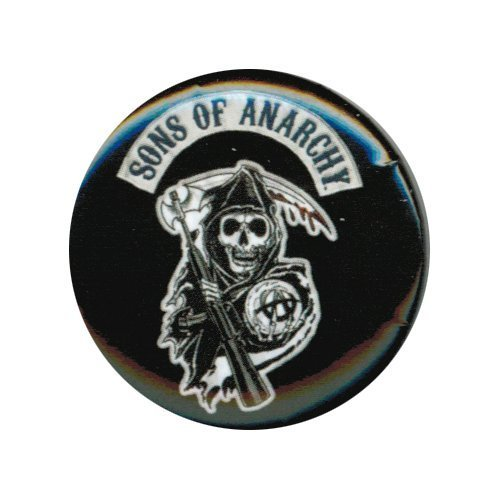 Sons Of Anarchy Patch Logo Button