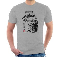 Ghost In The Shell Major Vs Tank Sumie Men's T-Shirt