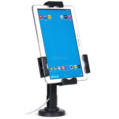 Lockable iPad Tablet Wall Case or Desk Mount Stand Secure Anti Theft Counter Holder PAD2102