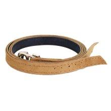 Women's Detachable Leather Shoe Straps - Black