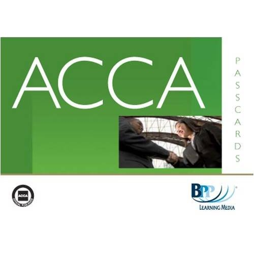 ACCA - P1 Professional Accountant: Paper P1: Passcards