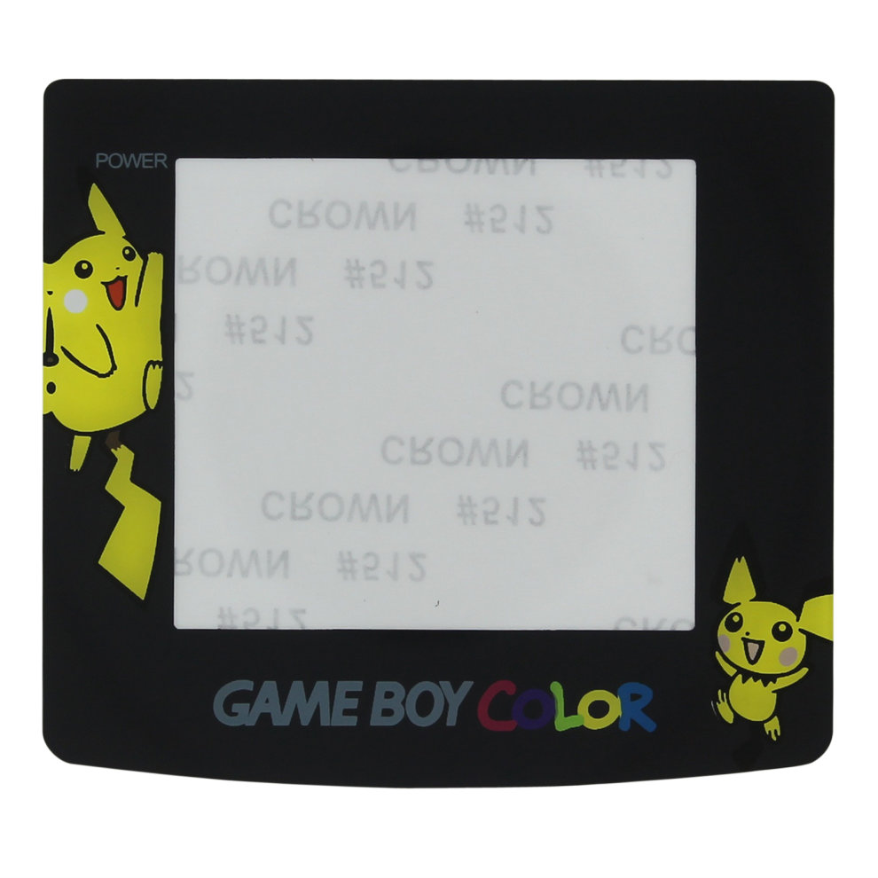 Pokemon edition replacement screen lens cover Pikachu for Game Boy Color  ZedLabz