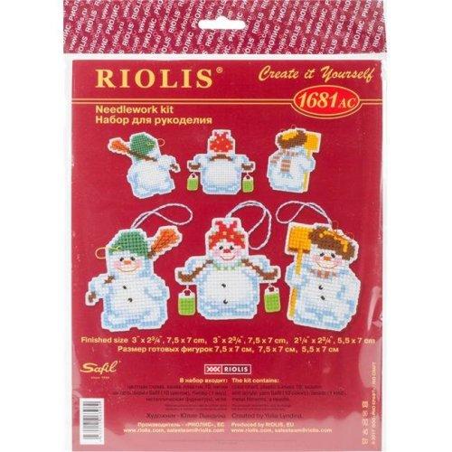 Riolis R1681AC 3 x 2.75 in. Plastic Canvas Kit