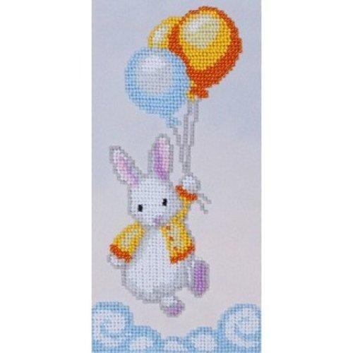VDV Bead Embroidery Kit - Little White Rabbit
