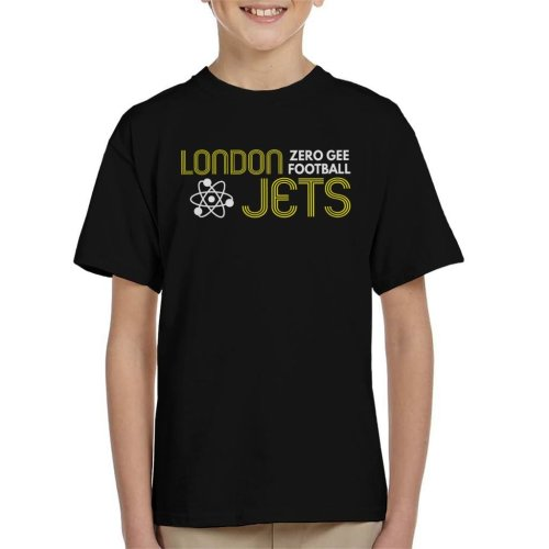 London Jets Zero Gravity Football Red Dwarf Kid's T-Shirt