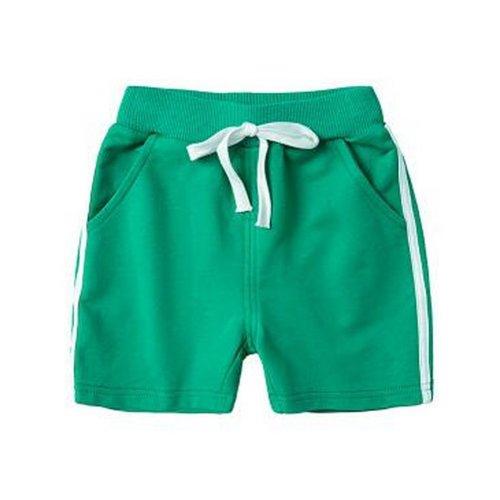 Baby Boy Short Pants Cute Short Pants for Summer Suitable for 120cm [F]