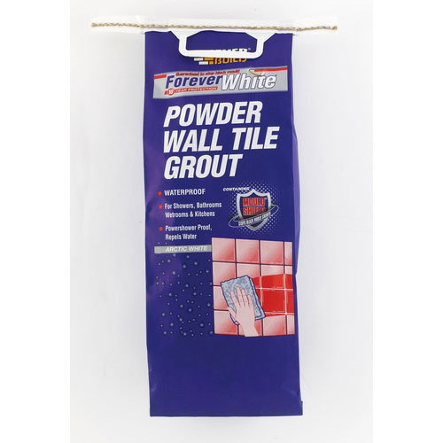 Everbuild Forever White Powder Wall Tile Grout 1.2kg