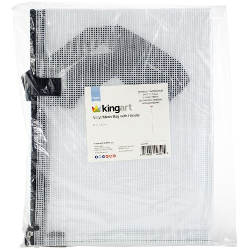 "Vinyl Mesh Bag W/Handle -19""X25"""
