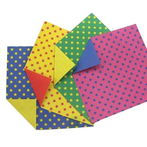 160 Sheets Colorful Square Origami Papers Craft Folding Papers #08