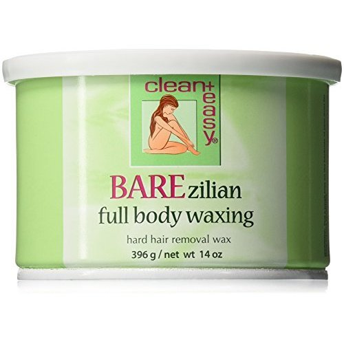 Clean  Easy Hard Wax, Barezilian, 14 Ounce