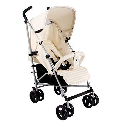 My Babiie MB01 Stroller, Cream