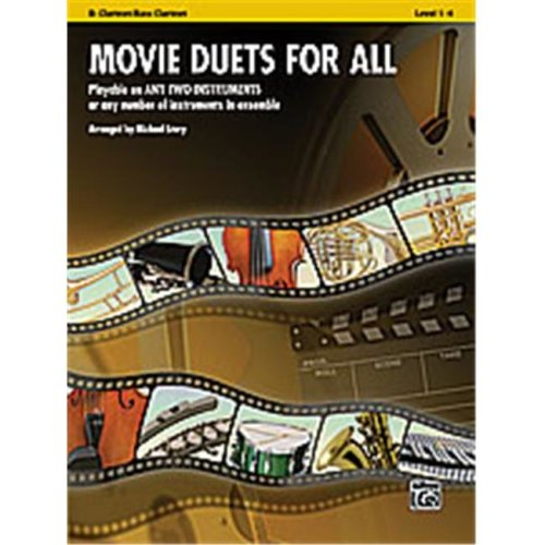 Alfred 00-33515 Movie Duets for All - Music Book
